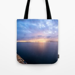 Watching the City lights II Tote Bag