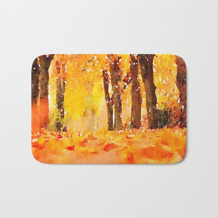 Fall Bath Mat