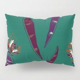 Carrot Print  Pillow Sham