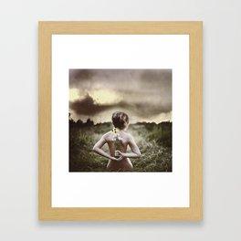 Self nurture Framed Art Print