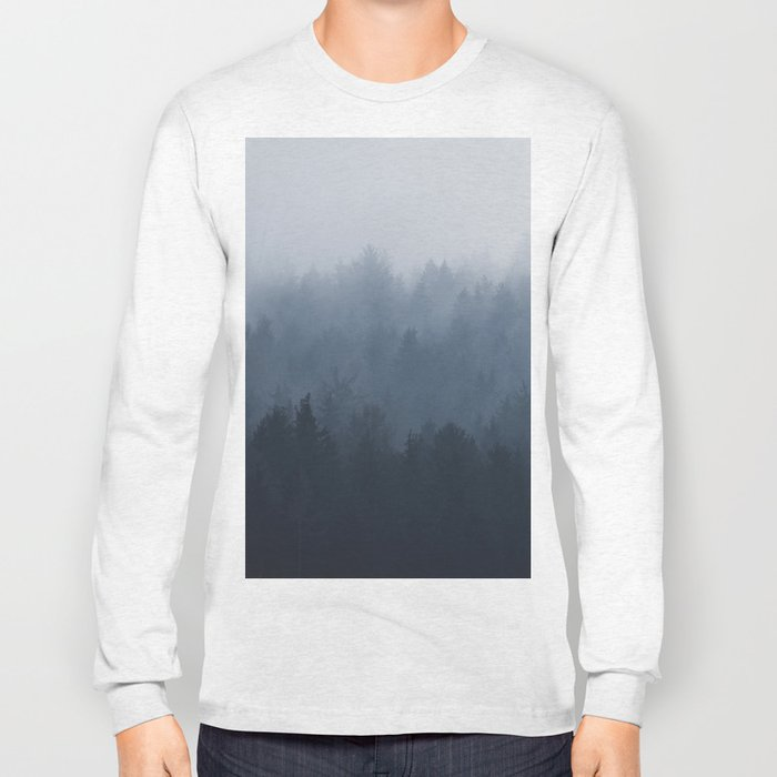 Fog in the forest Long Sleeve T-shirt