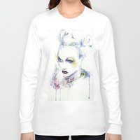 vogue Long Sleeve T-shirts featuring Vogue by Chris Silver