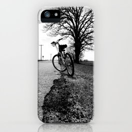 Biking with a Wise Oak iPhone Case