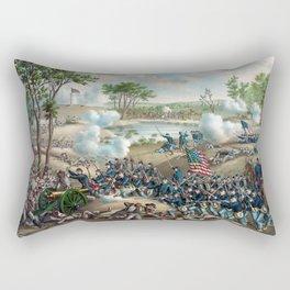 Battle of Cold Harbor -- Civil War Rectangular Pillow