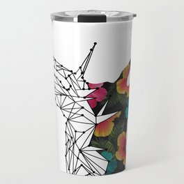STAG FLORAL Travel Mug