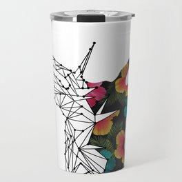 STAG FLORAL Travel Mug