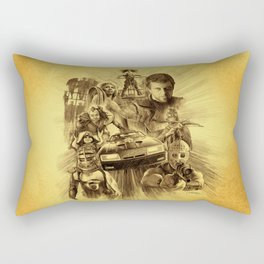 Homage to Mad Max Rectangular Pillow