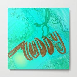 Muddy drawing Metal Print