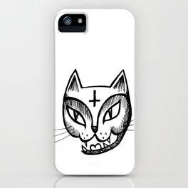 Satan Kitty iPhone Case