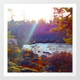 Benham Falls Art Print