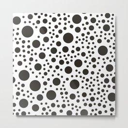 Modern Dot Pattern Metal Print