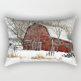 A Cold Day in December Rectangular Pillow