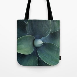 Dark green leaves Tote Bag