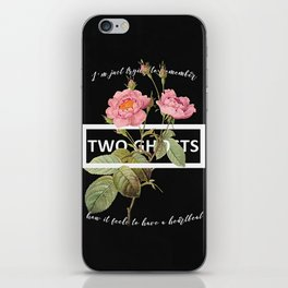 Harry Styles Two Ghosts graphic design iPhone Skin