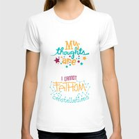 risa rodil T-shirts featuring My Thoughts Are Stars by Risa Rodil