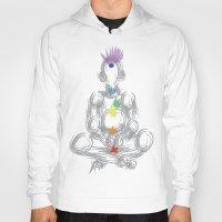 chakra Hoodies featuring chakra meditation by Kyle Ellsworth