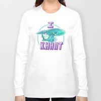 enerjax Long Sleeve T-shirts featuring I KHANT by enerjax