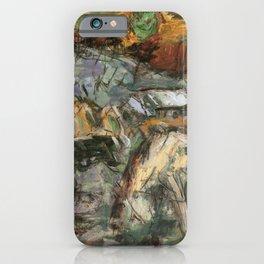 Kida Kinjiro - Blue Sun (1955) iPhone Case