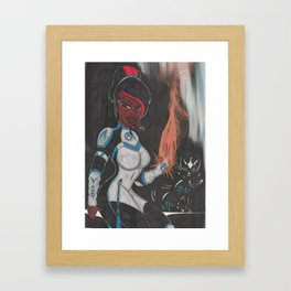 The Power of Two Framed Art Print