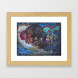 Swazi Art 16 Framed Art Print