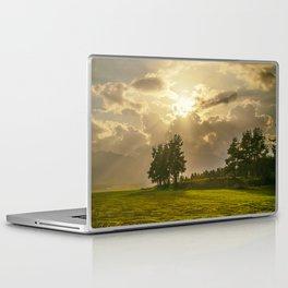 Sunset field Laptop & iPad Skin