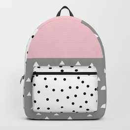 Cute pastel pattern Backpack