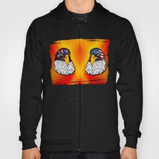 Confederate and Union Eagles Hoody