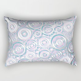 Bubbles - psycho Rectangular Pillow