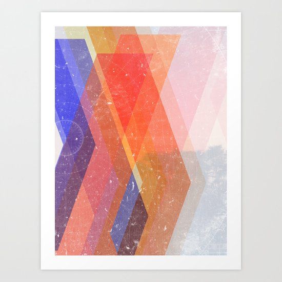 Paths Art Print
