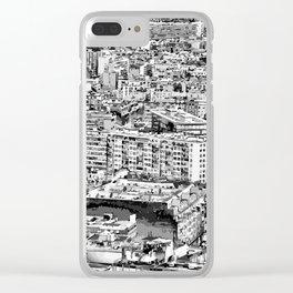 Paris - Blick vom Eiffelturm Clear iPhone Case