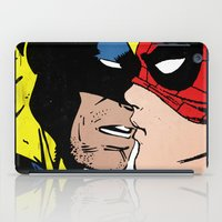 heroes iPad Cases featuring Heroes by Alex Cherry