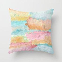 Abstract Watercolor - Design No.1 Throw Pillow
