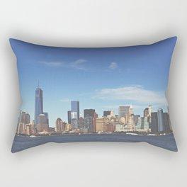 Manhattan Skyline Rectangular Pillow