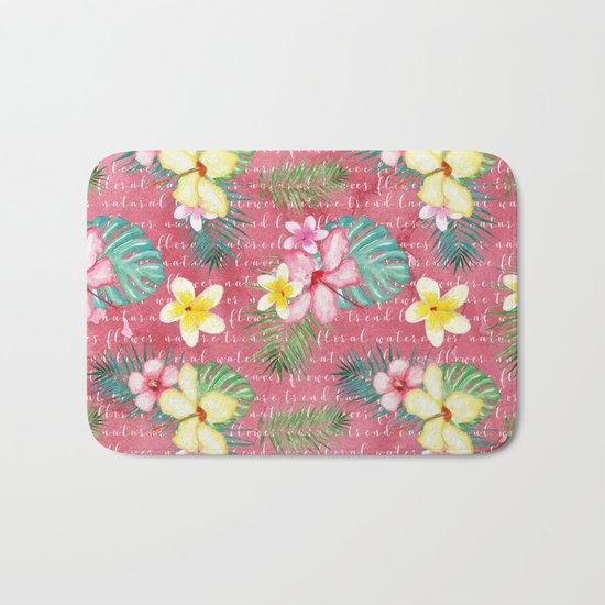 Summer flowers #1 Bath Mat
