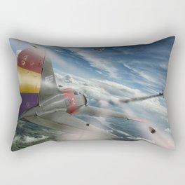 Dogfight Rectangular Pillow