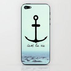 Cest La Vie (Anchor) iPhone & iPod Skin