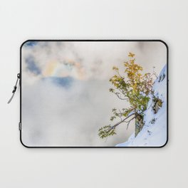 Halo in Caucasian ridge Laptop Sleeve