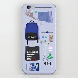 Modern Artemis Flatlay iPhone Skin