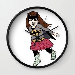Batgirl Ballerina Wall Clock