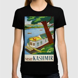 Visit Kashmir Travel Poster T-shirt