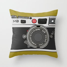 Camera Throw Pillow