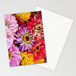last of the summer colors Stationery Cards