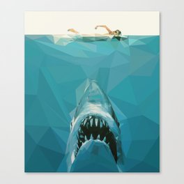 """""""We're Going To Need A Bigger Boat"""" Canvas Print"""