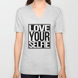 Love Your Selfie Unisex V-Neck