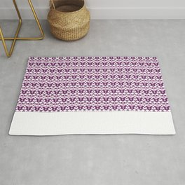 Lilac Pattern Rug