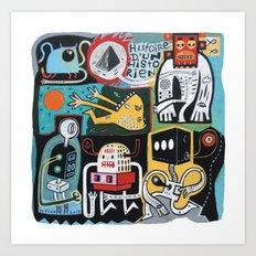Matamore Art Print
