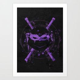 Donatello Turtle Art Print