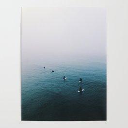 Fog Surf Crew   California Poster