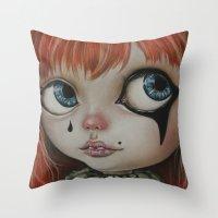 circus Throw Pillows featuring Circus  by Bella Harris