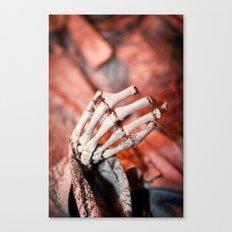 Broken Fingers Form Broken Chords Canvas Print